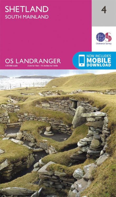 OS Landranger 04 - Shetland - The South Mainland